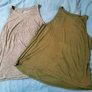 Old Navy High Neck Tank Tops | 2 For 1